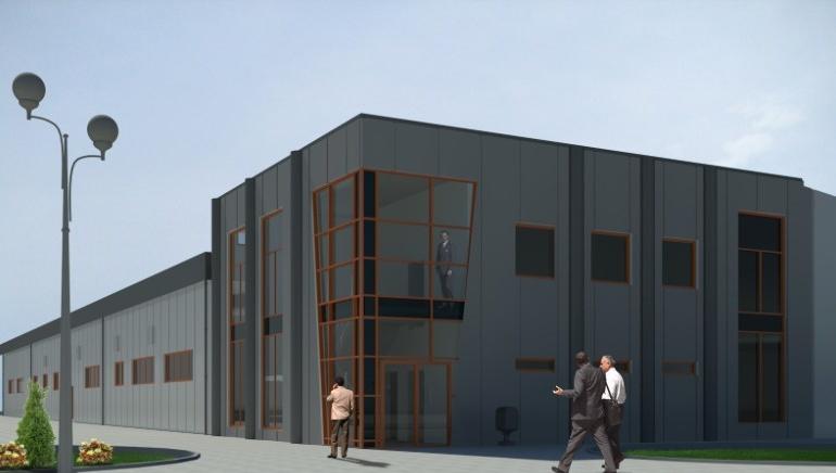 Projekt budynko administracyjno - produkcyjnego - REXI