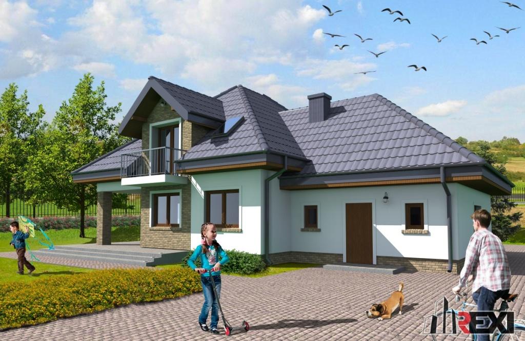 Projekt domu 1